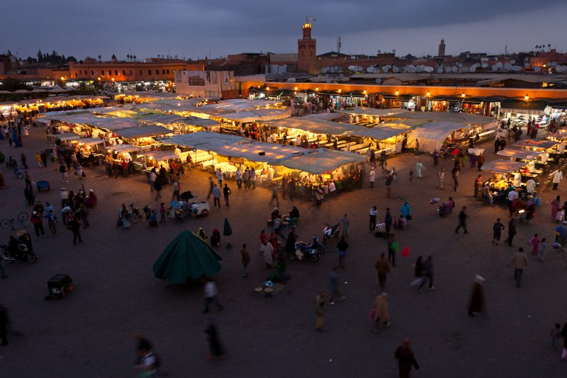 Marokko geführte Motorradreise 21