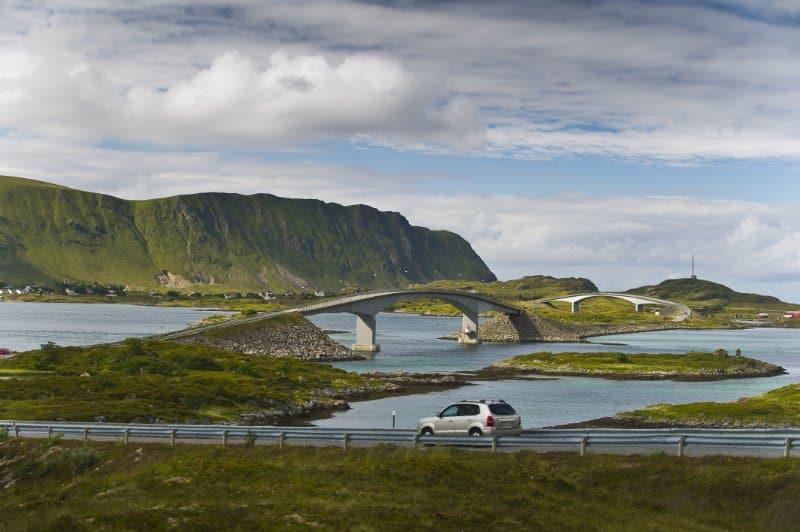 Motorradreise Nordkap ungefuehrt Landschaft 5