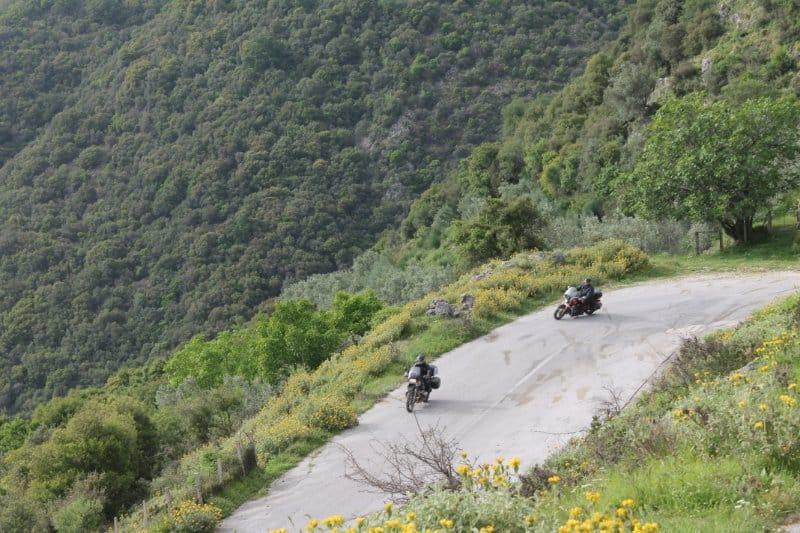 Motorradtour Griechenland Bergstrassen 5