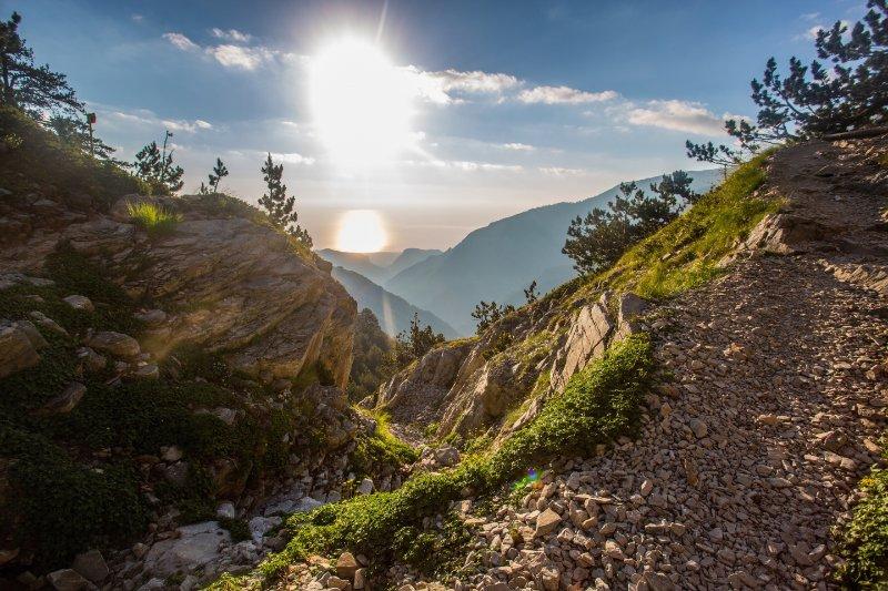 Motorradtour Griechenland Landschaft 6