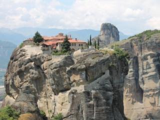 Motorradtour Griechenland Meteora Kloster 8