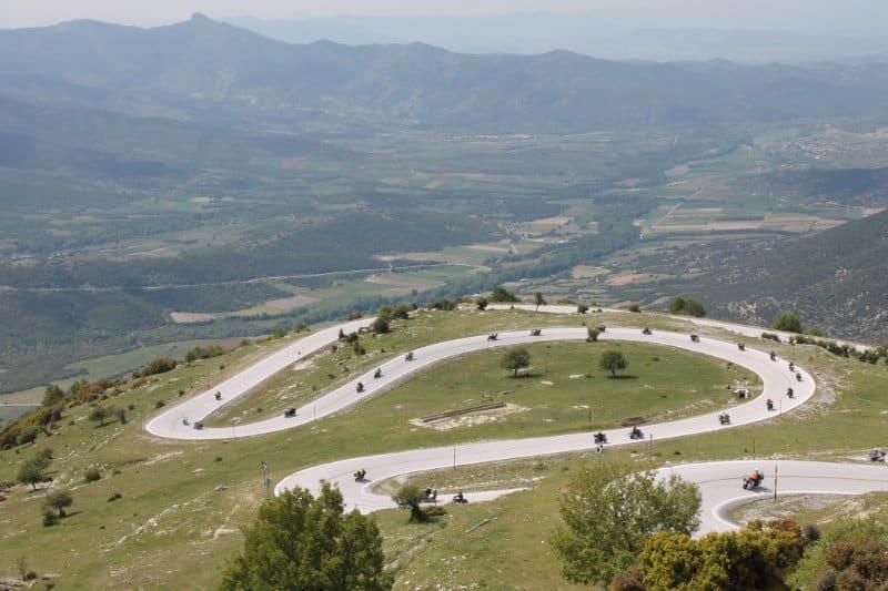 Motorradtour Griechenland Serpentinen 4