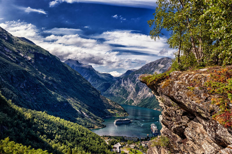 Nordkap Selbstfahrer Gruppenreise Geiranger