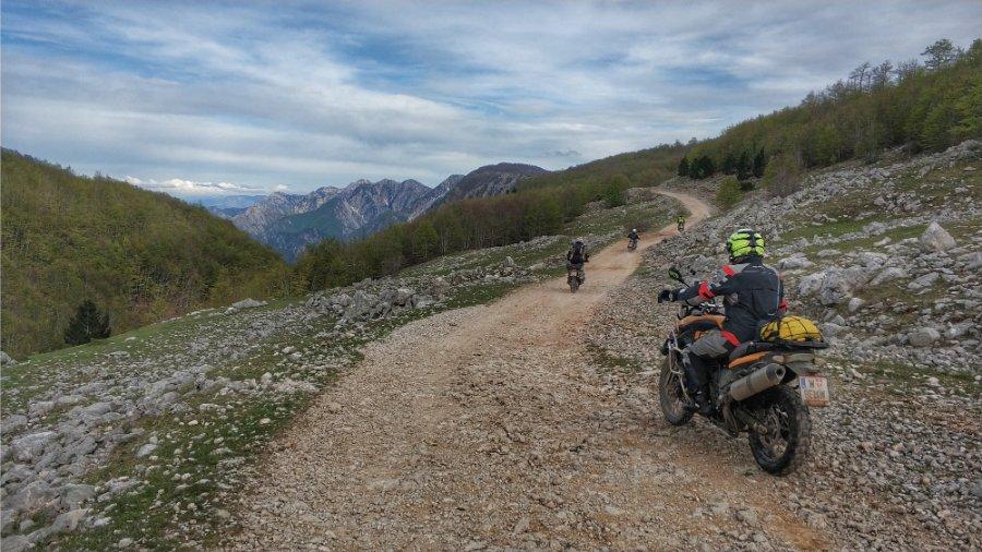 Balkan Big Enduros Motorrad Reise20