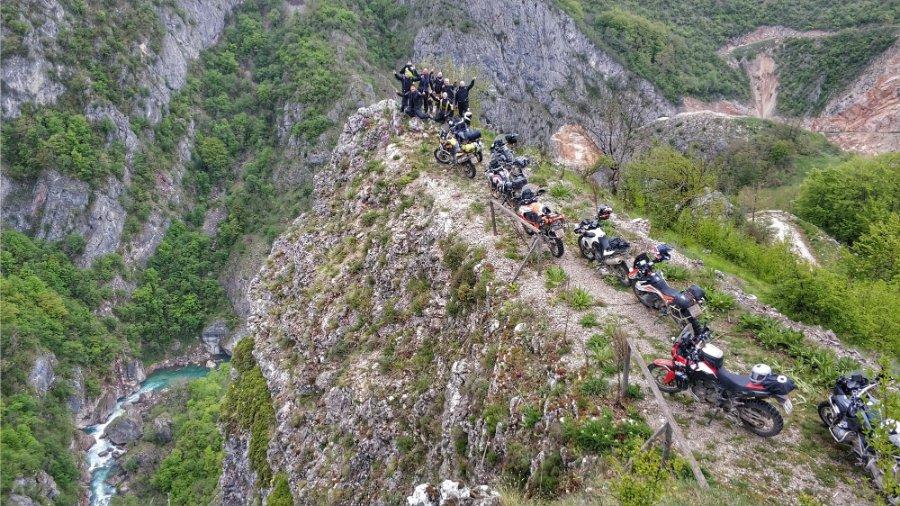 Balkan Big Enduros Motorrad Reise22